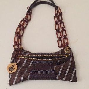 Lanvin mini satin shoulder bag